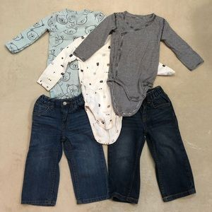 Baby Boy Bundle of Clothes Size 18 Months Preowned